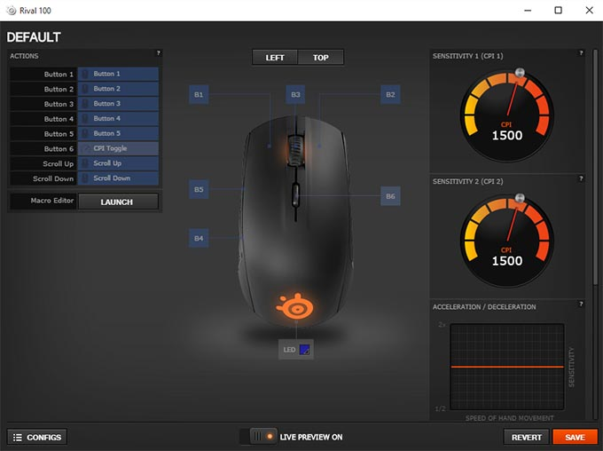 Steelseries-Rival-100-Software