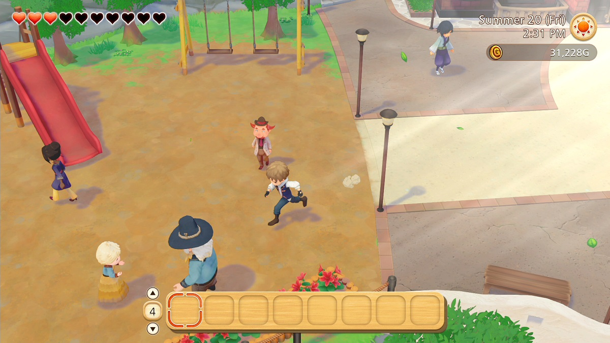 Story of Seasons: Pioneers of Olive Town Town Square