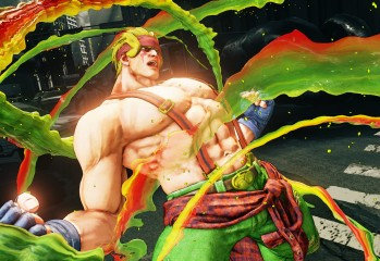 Street Fighter 5 Alex