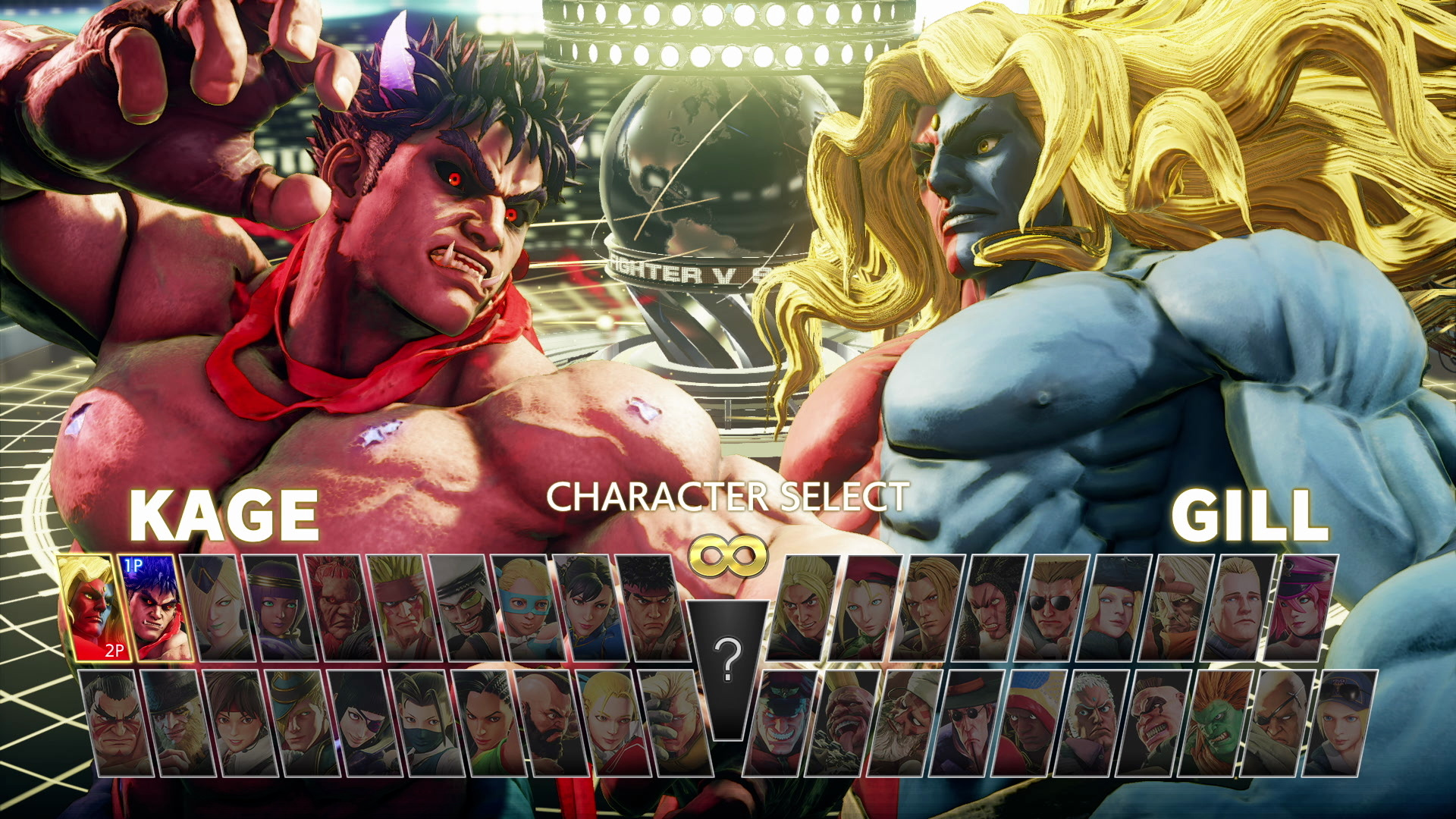 There are 40 fighters in Street Fighter V: Champion Edition