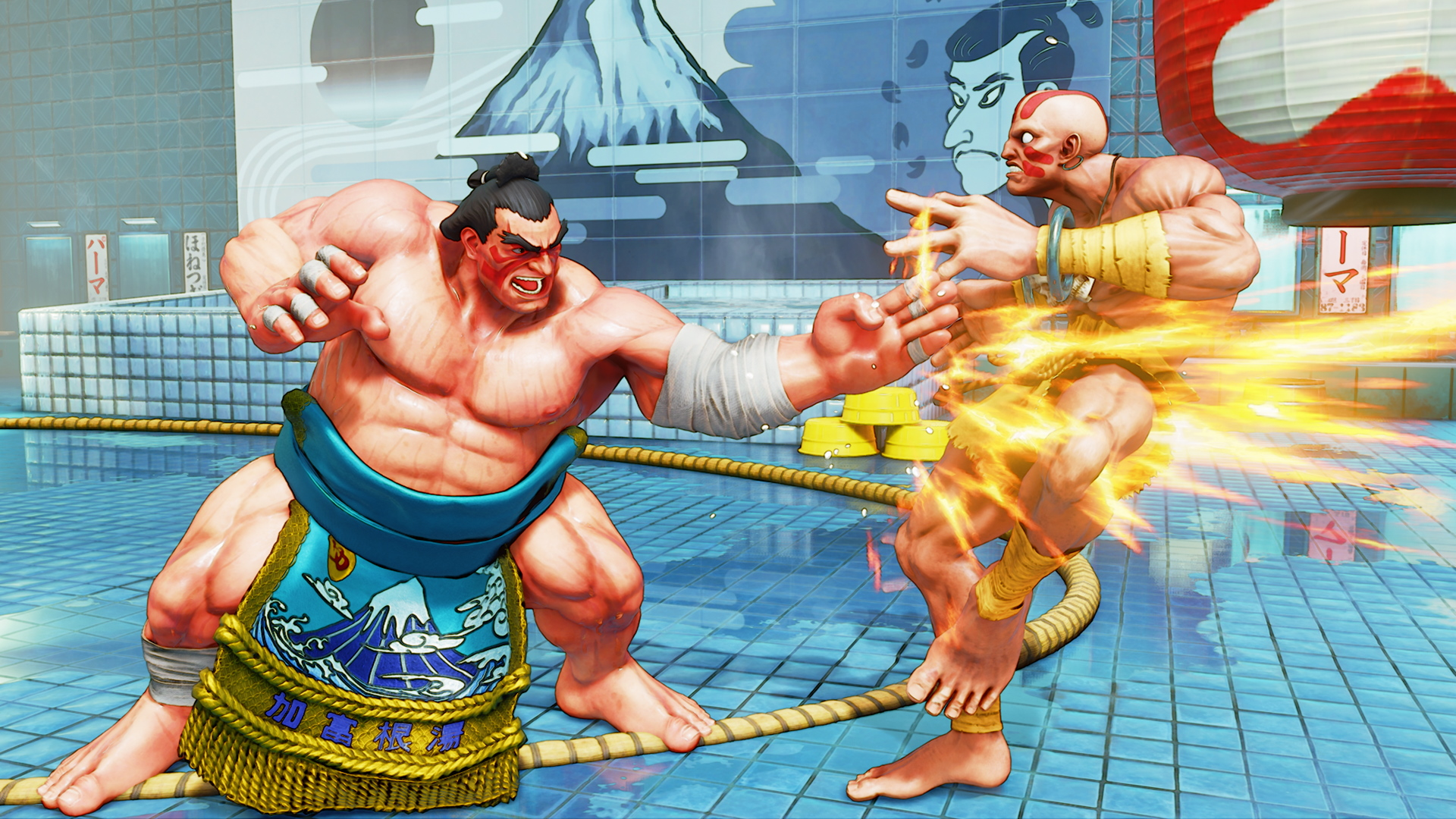 A screenshot from Street Fighter V: Champion Edition on PS4