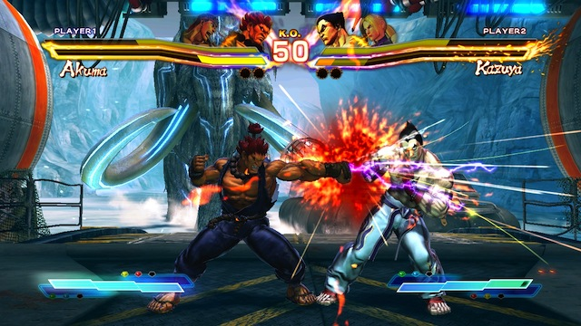 Street Fighter X Tekken - Akuma Punch