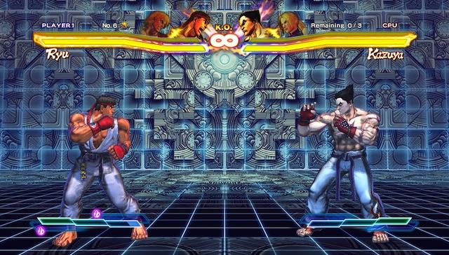 Street Fighter X Tekken - Kazuya Training