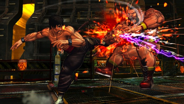 Street Fighter X Tekken - Law Kick