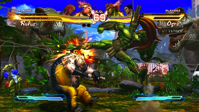 Street Fighter X Tekken - Ogre Kick