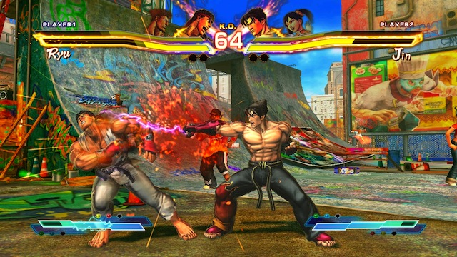 Street Fighter X Tekken - Ryu Punch