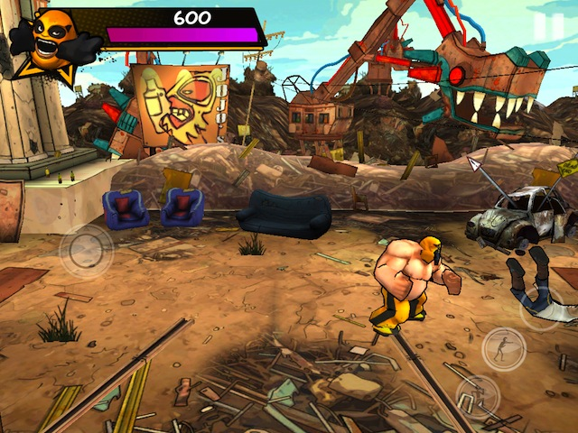 Street Wrestler - Screenshot