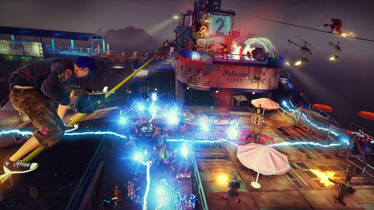 Sunset Overdrive - Chaos Squad Night Defense