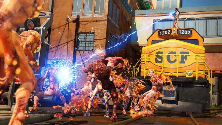 Sunset Overdrive review - enemies