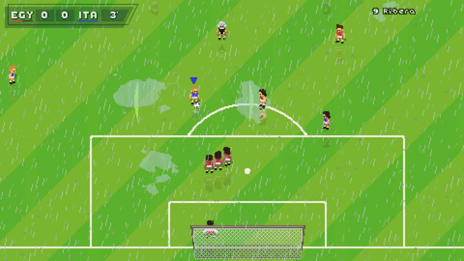 Super Arcade Football: meat and drink