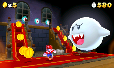 Super Mario 3D Land - Ghost!