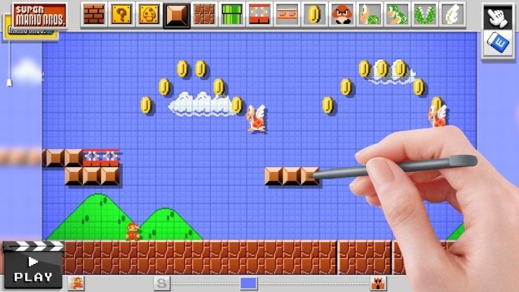 Super Mario Maker - Mario Bros