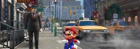 Super Mario Odyssey - new donk city man