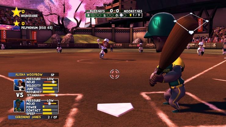 Super Mega Baseball - Batting