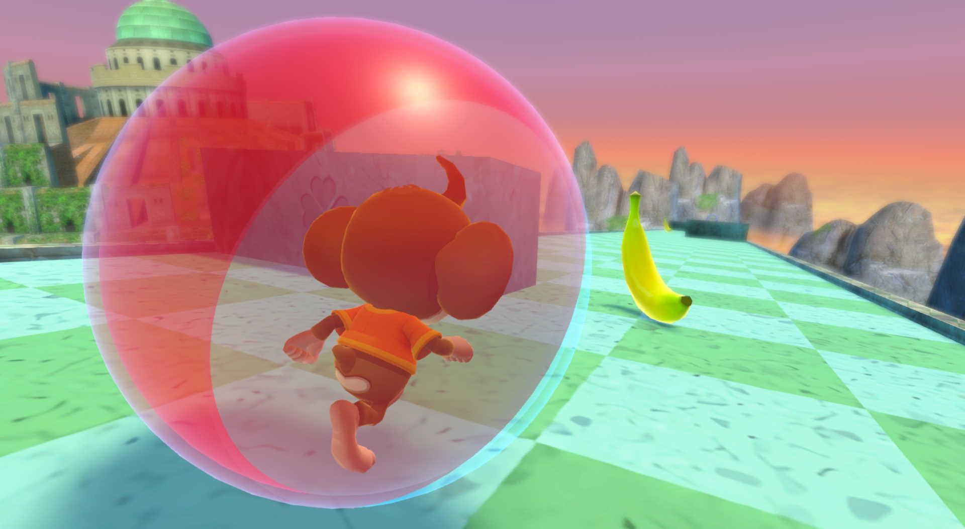 Super Monkey Ball: Banana Mania: simple but effective