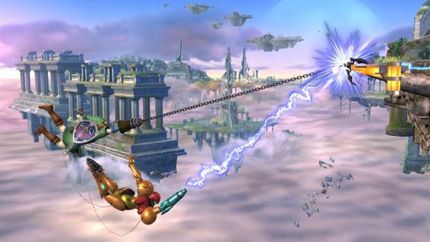 Super Smash Bros Link Hook