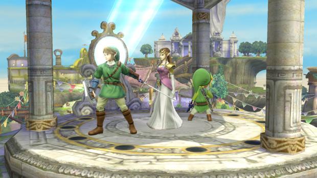 Super Smash Bros Links