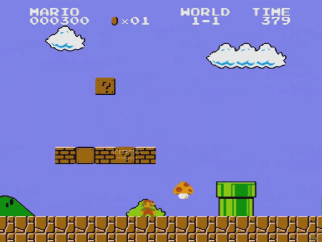 Super Mario Bros - Screenshot