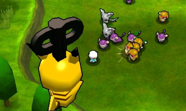 Super Pokemon Rumble - Jumping
