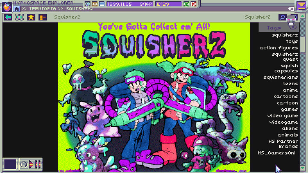 A screenshot of Hypnospace Outlaw