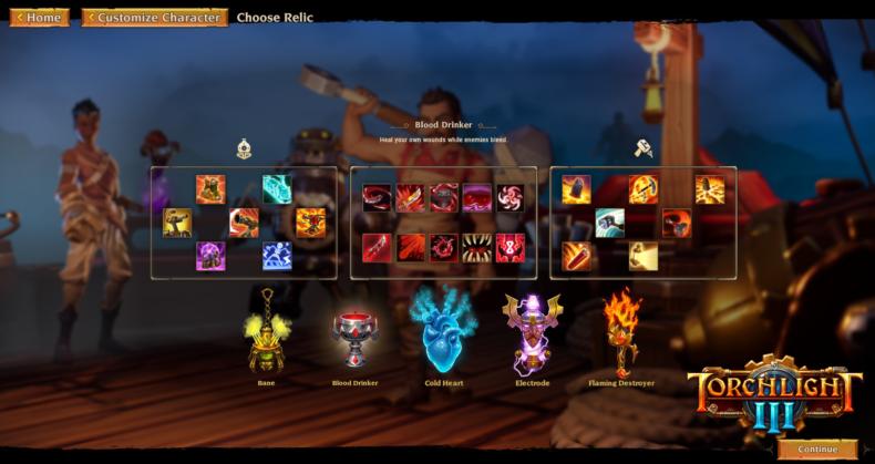 Relic Subclass update Torchlight III