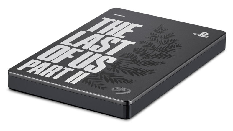 "Seagate Limited Edition ""The Last of Us Part II"" Portable Hard Drive"