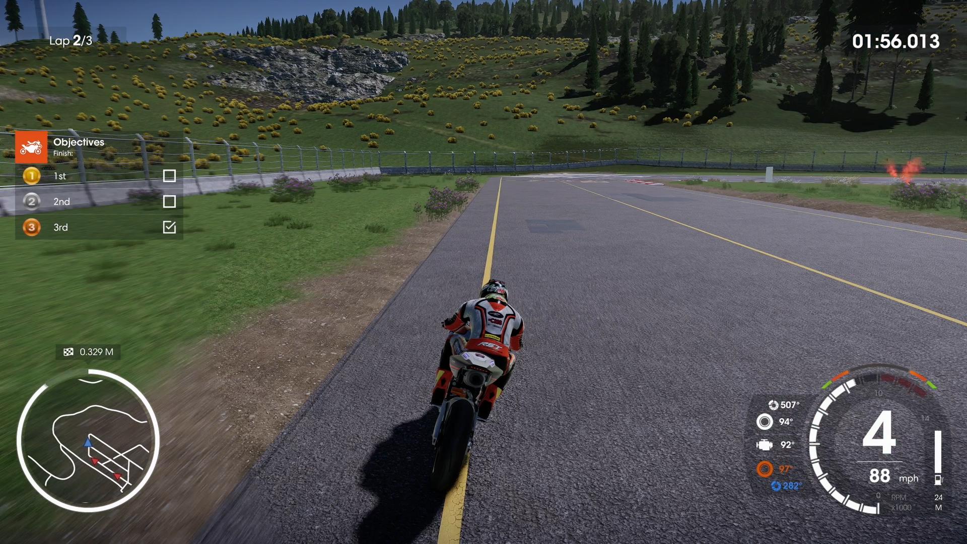 TT Isle of Man Ride on the Edge 2 screenshot