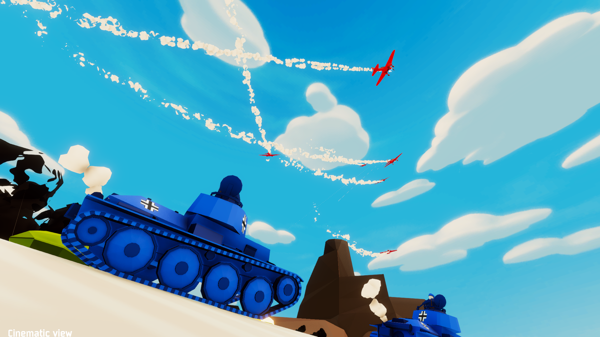 Physics-Based Total Tank Simulator Coming to Steam in 2020