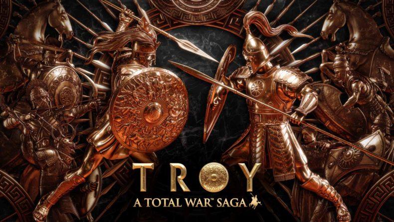 Total War Saga Troy logo
