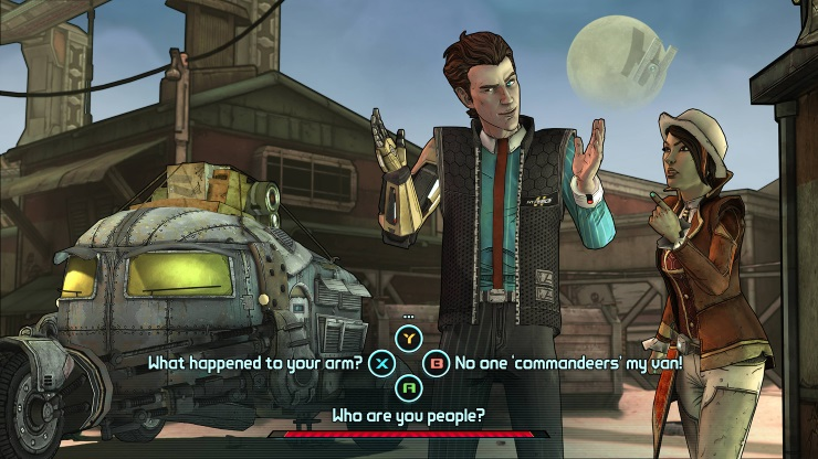 Tales from the Borderlands - Chat