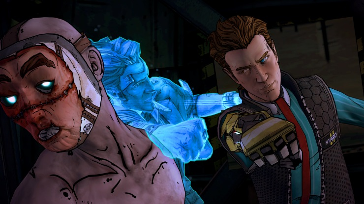 Tales from the Borderlands episode 4 - punch