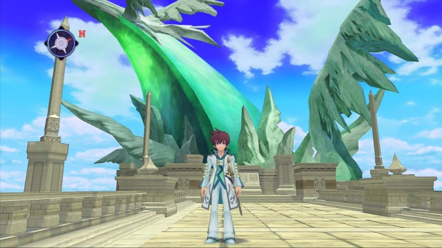Asbel before the cryas in Tales of Graces f