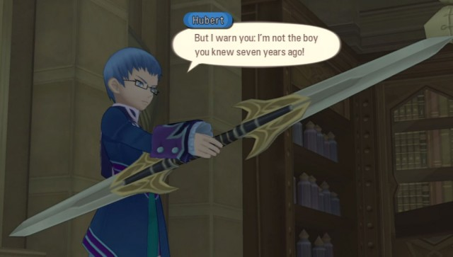 Hubert from Tales of Graces f confronts his brother Asbel