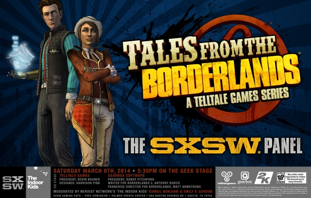 Tales From The Borderlands To Be Told At SXSW In March