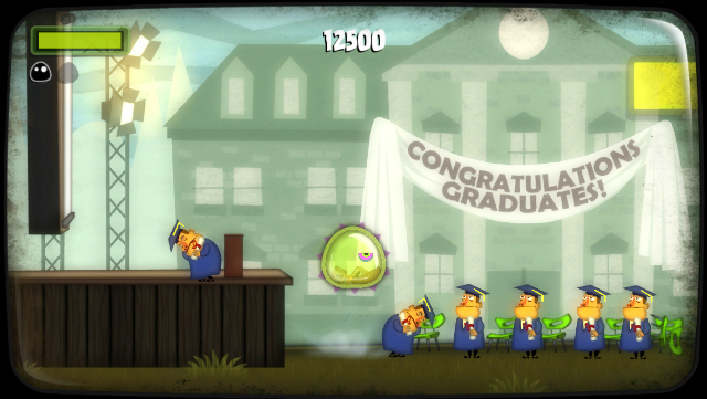 Tales from Space: Mutant Blobs Attack - Graduation