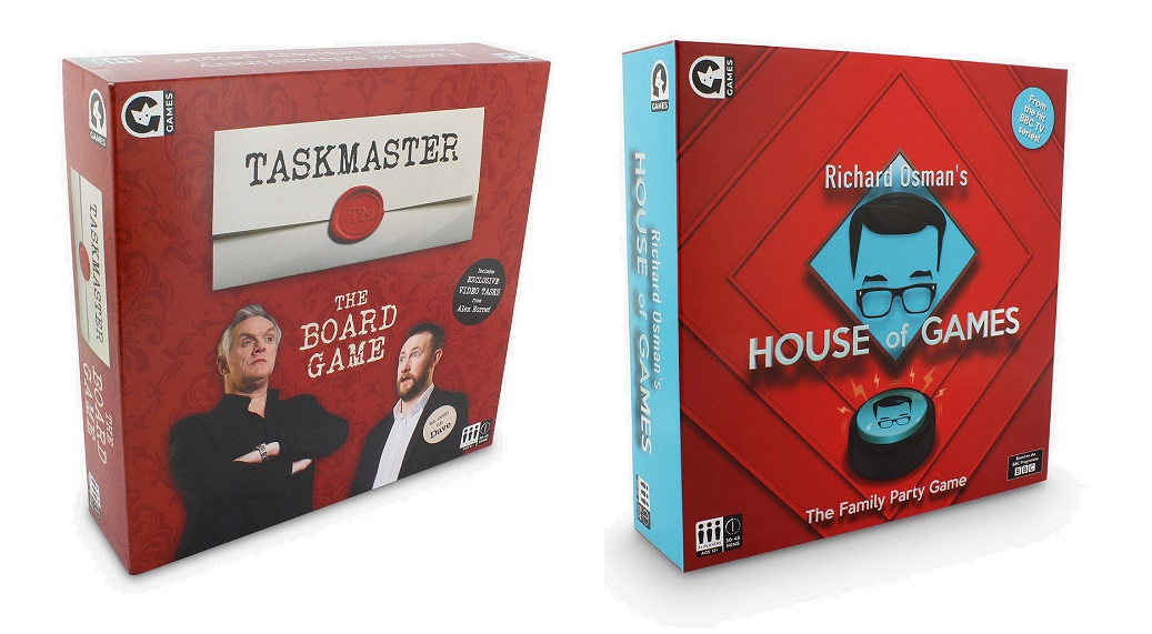 Taskmaster and House of Games Board Games