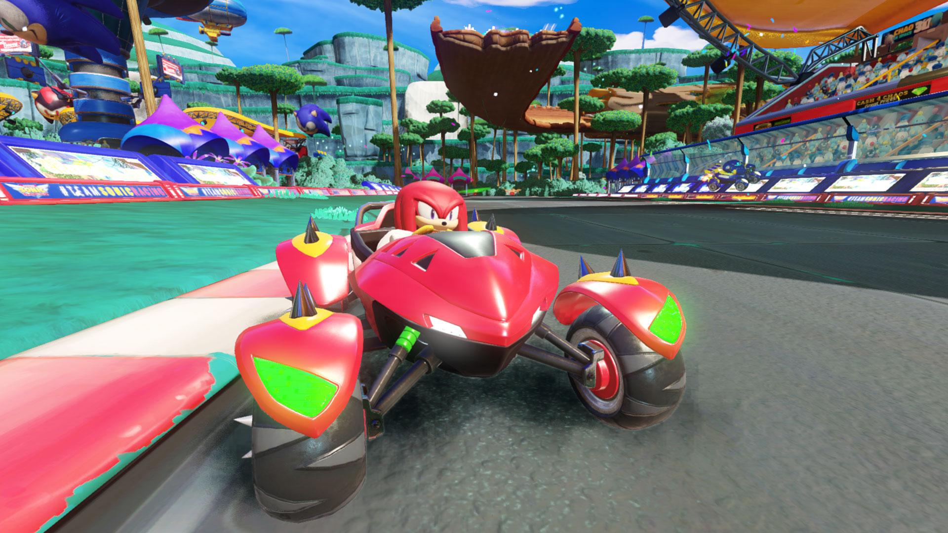 Team Sonic Racing review - GodisaGeek com