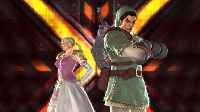 Tekken Link and Peach