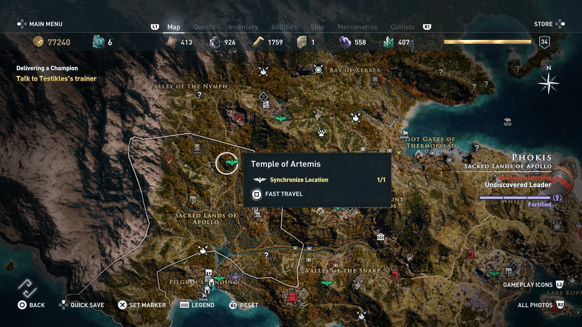 Assassin S Creed Odyssey Daughters Of Artemis Questline All