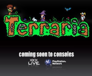 "505 Games Drop Block-Building ""Terraria Coming to Consoles"" Megaton!"