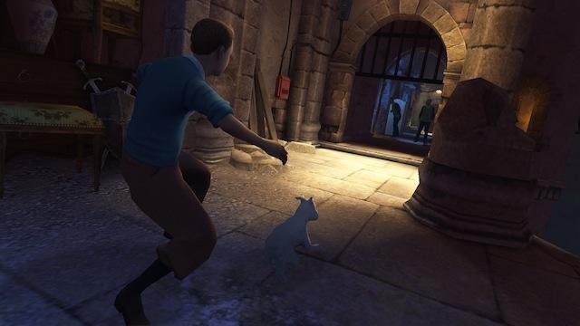 The Adventures of Tintin: The Secret of the Unicorn - Darkened Alley