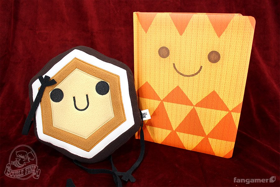 The Art of Broken Age : Hexipal Plushie