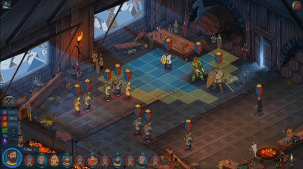 The Banner Saga review screenshot