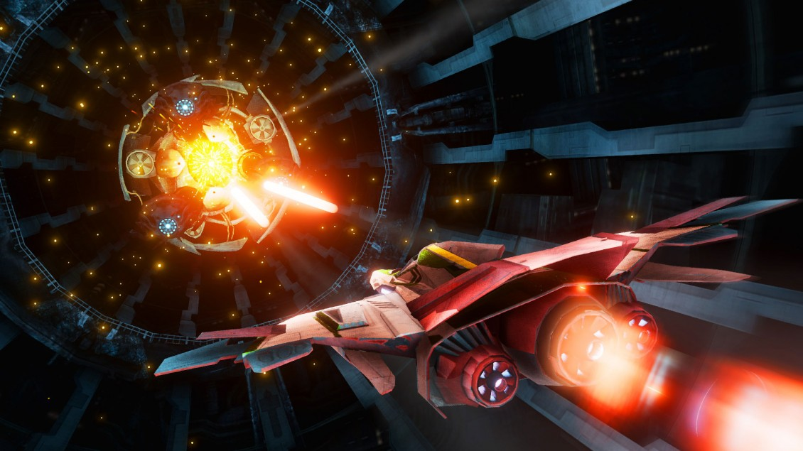 The Collider 2 is an example of how great VR controlled games can feel