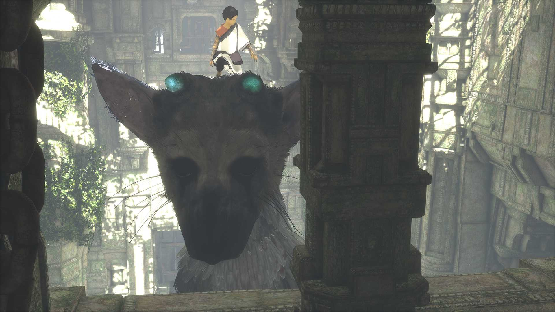 The Last Guardian - Trico lift