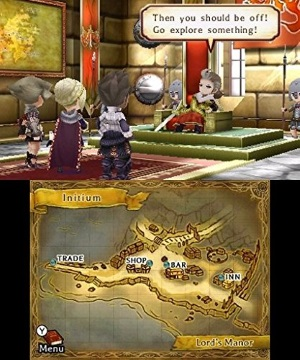 The Legend of Legacy review screenshot 3DS