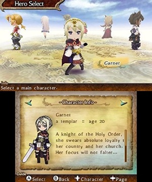 The Legend of Legacy review screenshot
