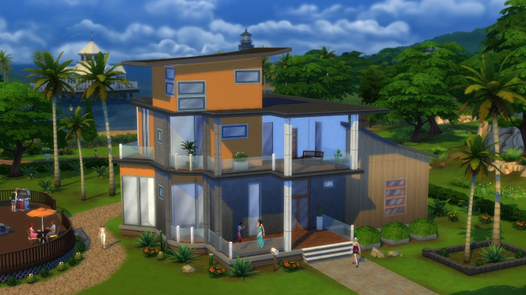 The Sims 4 build