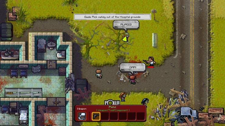 The Walking Dead The Escapists