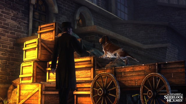 The Testament of Sherlock Holmes - Screenshot 01